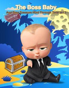 فلم الكرتون القصير الطفل القائد ومهمة البحث عن الكنز عبر الزمن The Boss Baby And Tims Treasure Hunt Through Time 2017