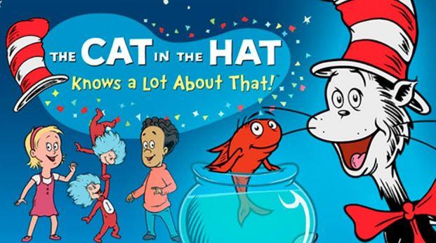 القط الفصيح ذو القبعة الحمراء